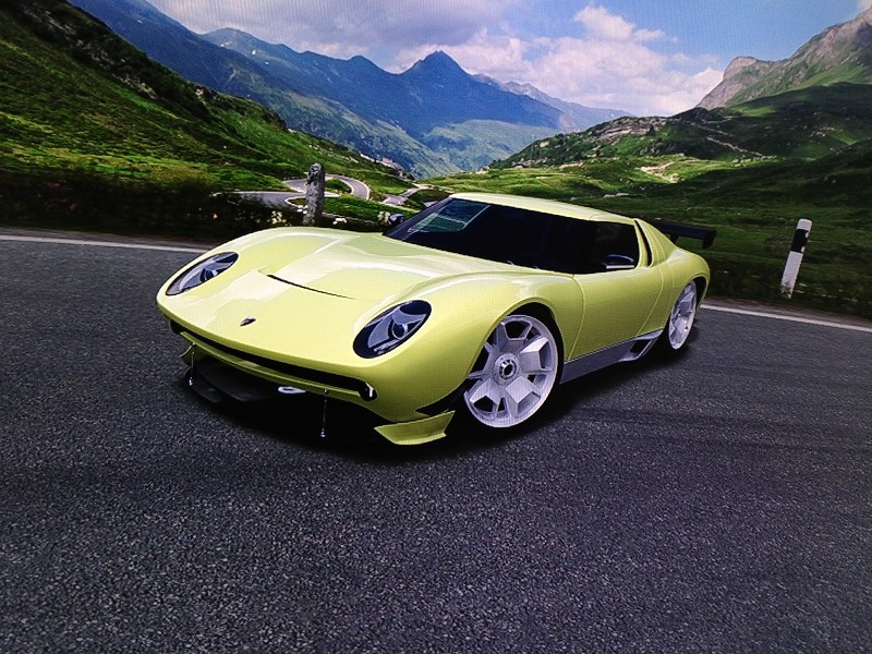 2006 lamborghini miura concept nurburgring grand prix circuit xbox360 forza4 so net. Black Bedroom Furniture Sets. Home Design Ideas